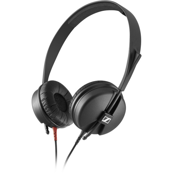Sennheiser On-ear closed back headphones for studio and live sound, delivering the classic sound of the HD25 but with an elegant, simplified headband and a straight cable (1.5m), HD 25 LIGHT