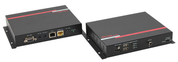 Hall Research HDMI + USB + LAN over UTP Extender with HDBaseT and PoH (Sender + Receiver ), UH2X-P1