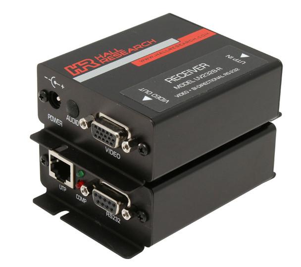 Hall Research VGA & Bi-Directional RS-232 Sender and Receiver Kit, UV232B