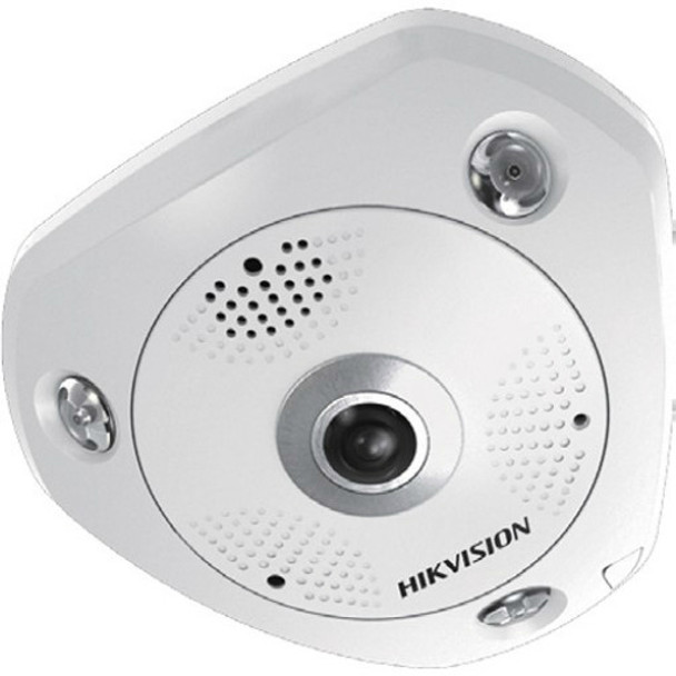 Hikvision Panaramic 180/360 degree, Outoor, 12MP, Day/Night, IR,  PoE/12VDC, DS-2CD63C2F-IV