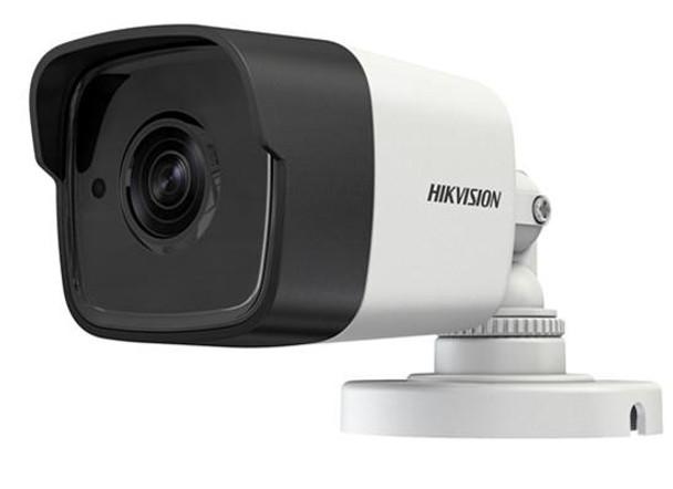 Hikvision Outdoor IR Bullet, TurboHD 3.0, HD-TVI, 3MP, 2.8mm, 20m EXIR 2.0, Day/Night, True WDR, Smart IR, IP66, 12 VDC, DS-2CE16F7T-IT-2.8MM