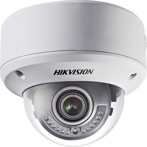 Hikvision Outdoor Dome,  700TVL, CCD,  2.8-12mm, Day/Night, WDR, IP66, 12VDC/24VAC, DS-2CC51A7N-VP