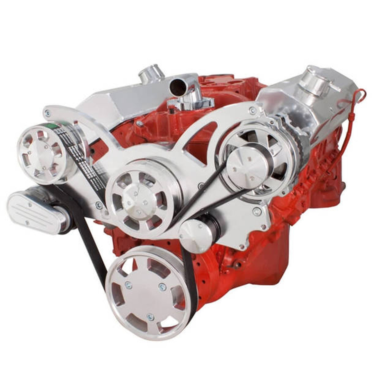 Serpentine Systems for SBC 283-350-400- Alternator Only- All Inclusive