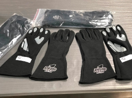 SFI3.5 Double Layer Nomex Gloves w/ Silicone Grip