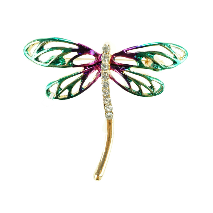 Plus Size Dragonfly Brooch
