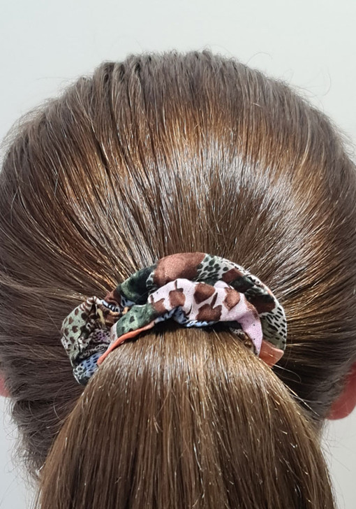 Abstract Print Scrunchie