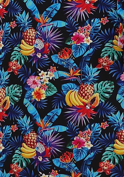 Tropical Delight Below The Knee Dress