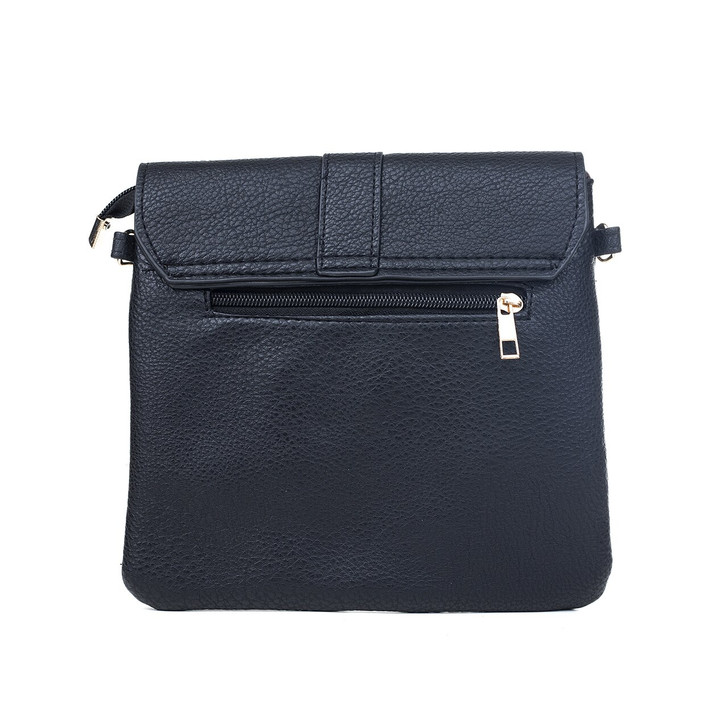 Black Bag With Gold Adornment