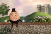 """""""Humpty Dumpty"""" Digital Backdrop"""