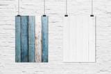 60x90cm The Blues & Island Planks