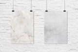 60x90cm Rose Marble & Washed Concrete