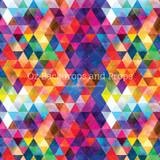 Bright Geo Triangles