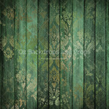 Emerald Damask Wood
