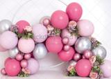 Magenta Balloon Garland