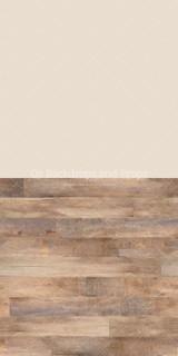 Solid Beige & Dakota Wood Two in One