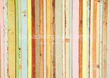 Pastel Rainbow Wood