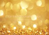 Gold Glitter Bokeh