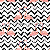 Flamingo Zig Zag