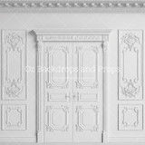 Ornate White Doors