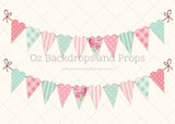Patchwork Heart Bunting