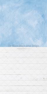 Hazy Blue Texture & Island Planks