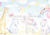 Pastel Baby Animals