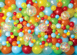 Confetti Balloon Wall