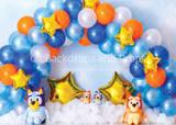 Bluey Balloon Arch