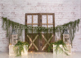 Boho Barn Doors - In Stock