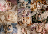 """""""The Ultimate Boho"""" Darling Collection Digital Backdrops"""