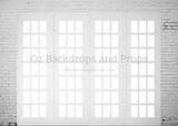 Brick Window Panes