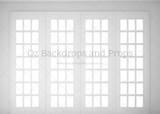 White Window Panes