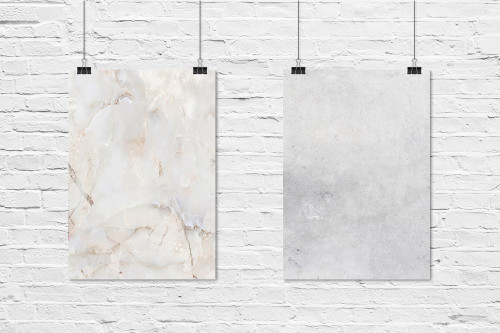 Rose Marble & Washed Concrete