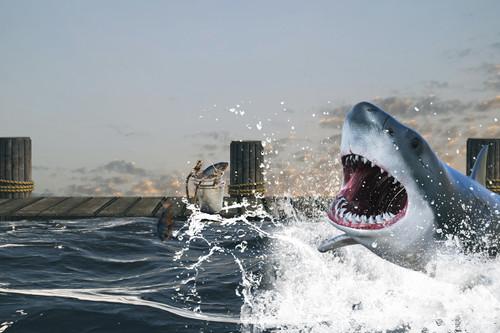 """Gone Fishing"" Digital Backdrop"