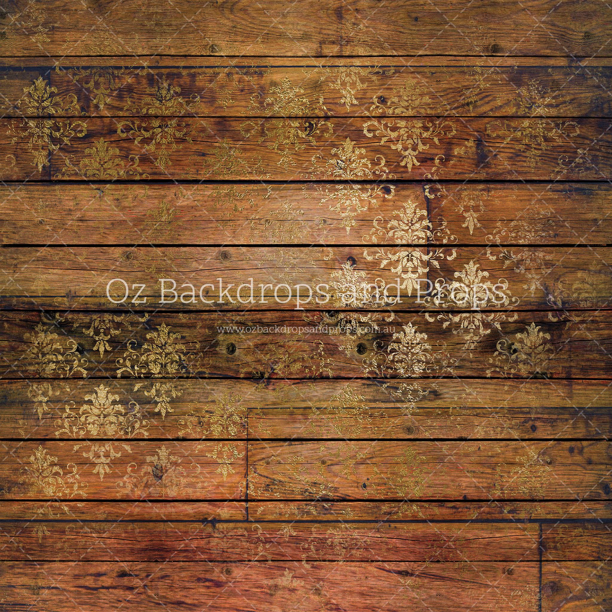 Golden Damask Wood