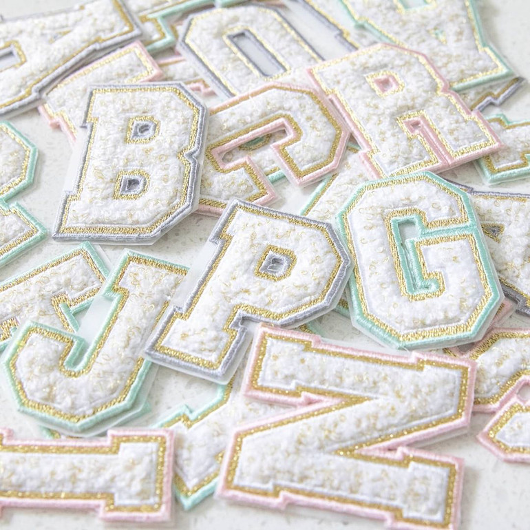 New Monogram Chenille Patches