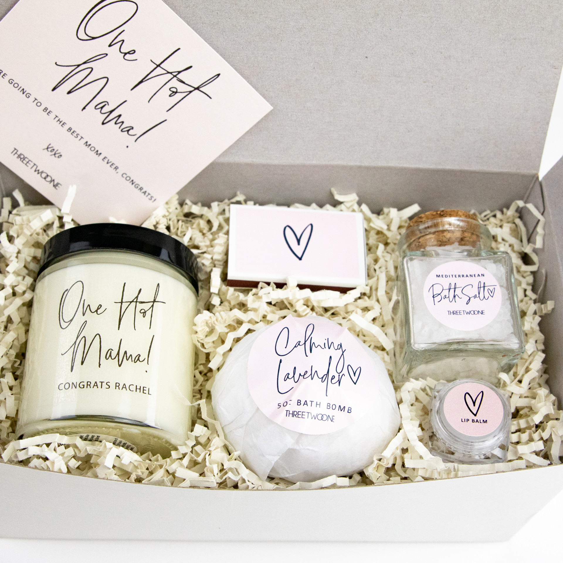 New Mom Care Package Gift Box