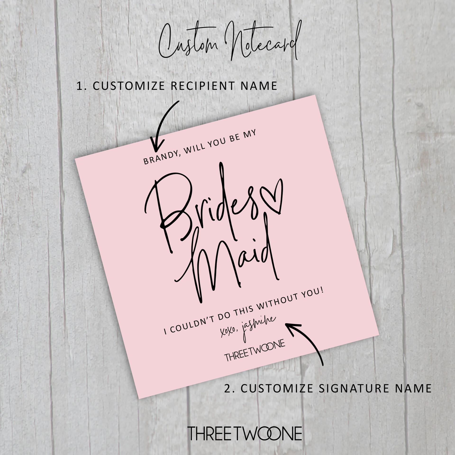 Bridesmaid Gift Box