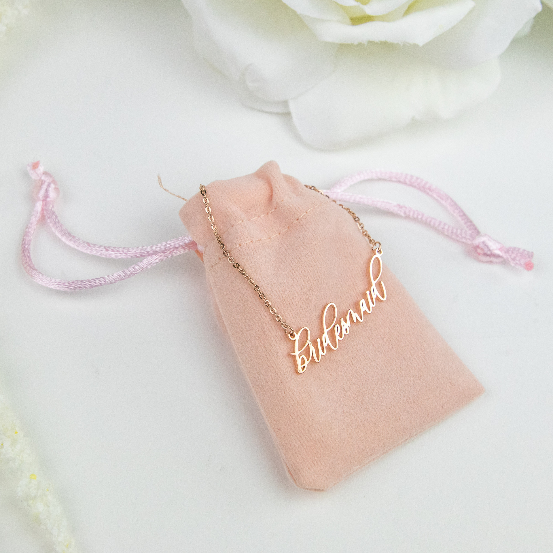 Bridal Party Necklace - Bridesmaid