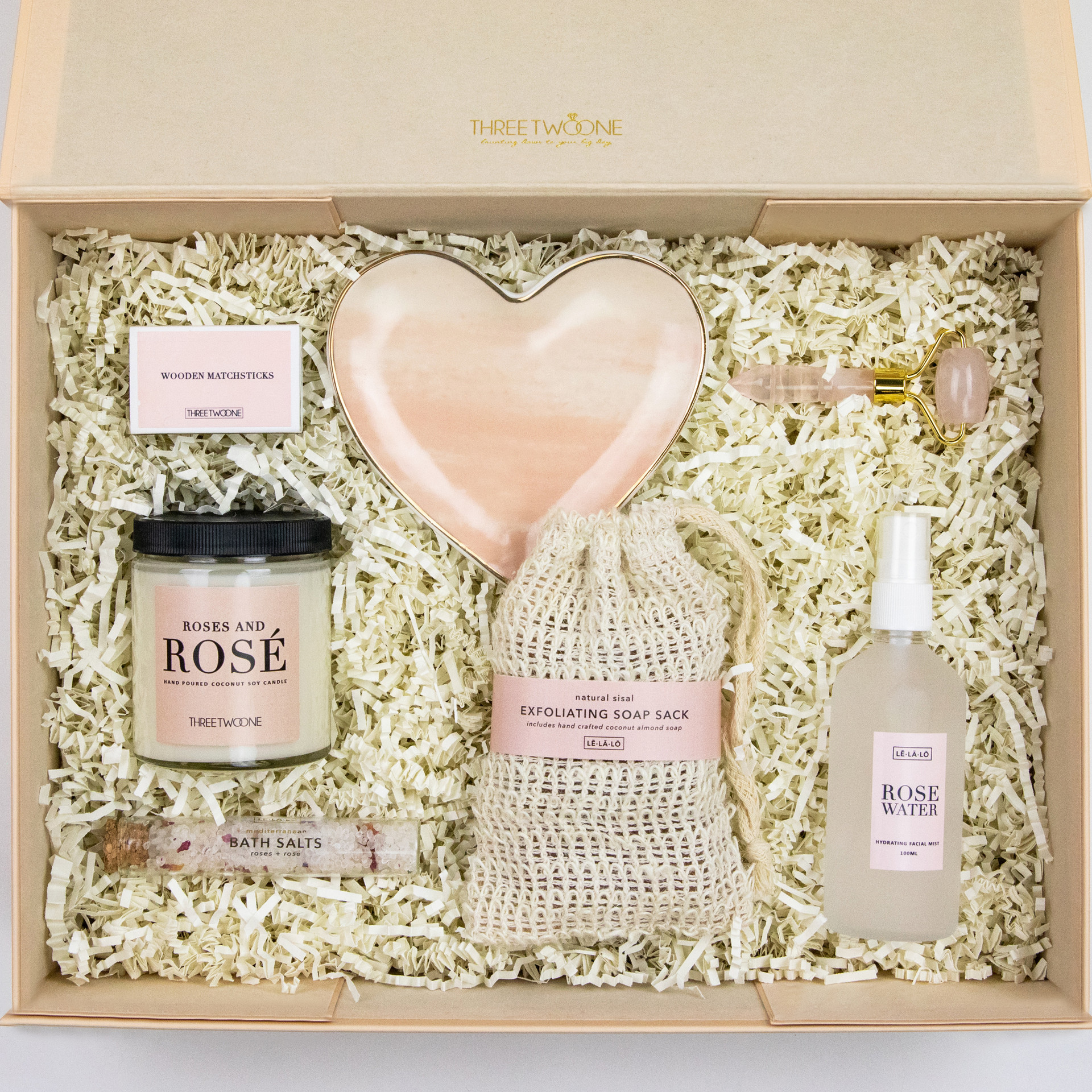 Thank You Gift Box - Roses and Rosé