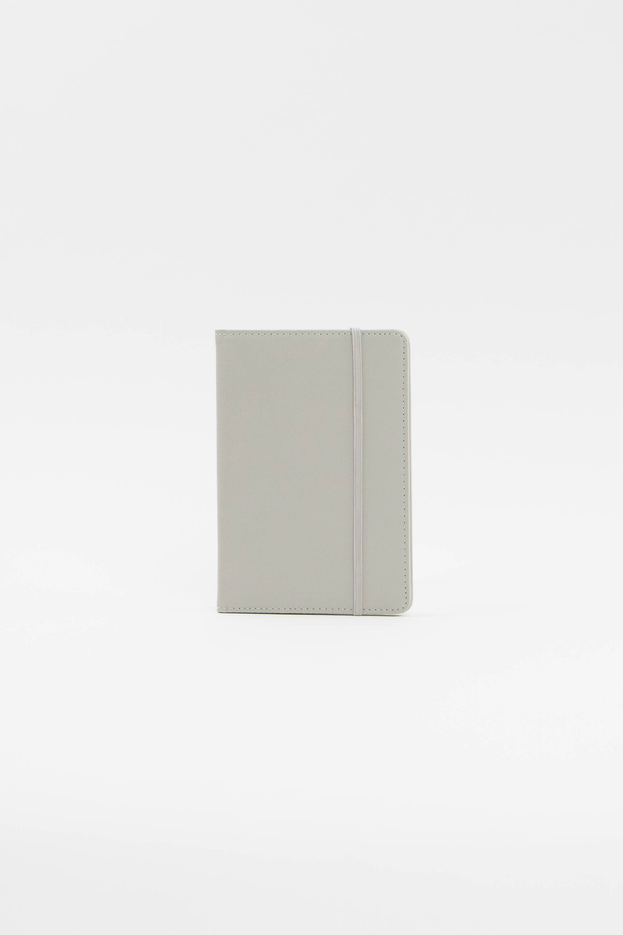 Light Gray Luggage Tag + Passport Holder
