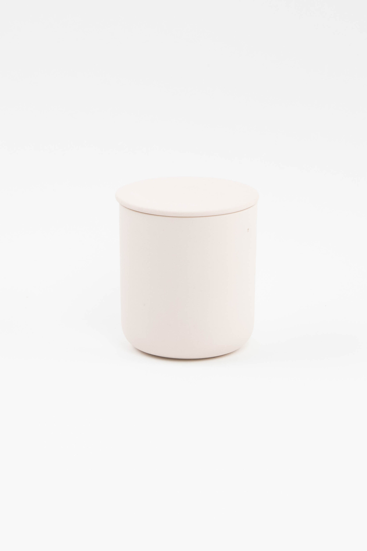 Blush 10oz Ceramic Soy Candle With Lid