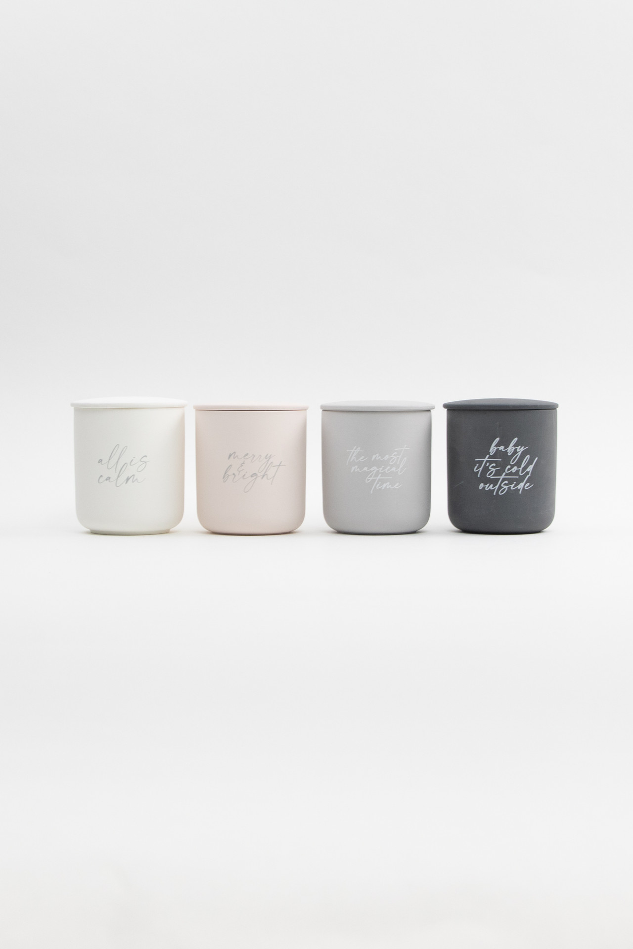 Baby Its Cold Outside Soy Candle With Lid