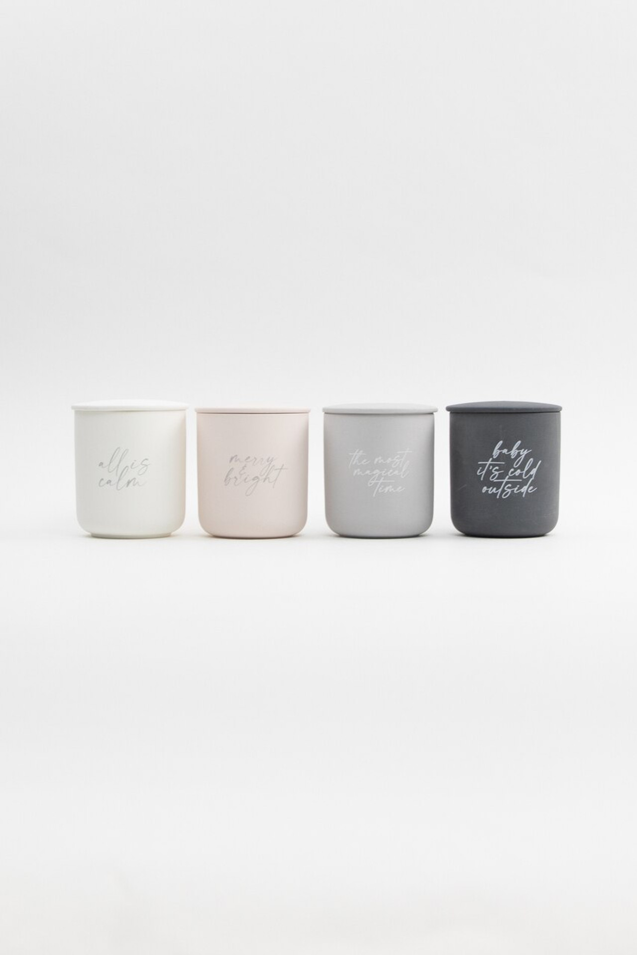 All is Calm Soy Candle With Lid