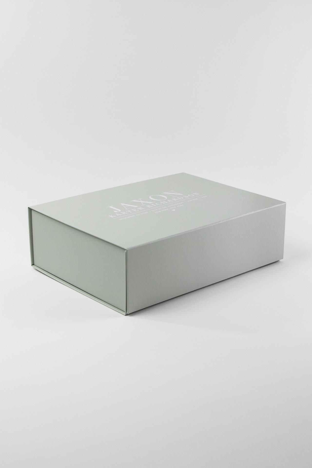 Birth Stat Personalized Keepsake Gift Box