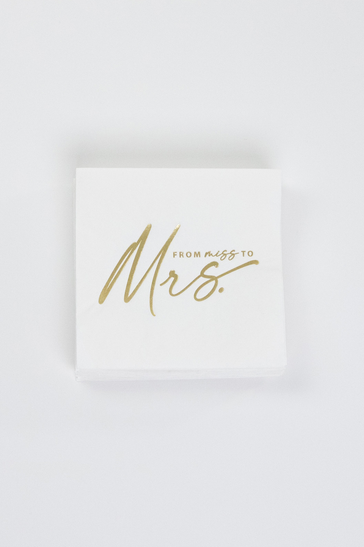 Party Napkins - Miss to Mrs