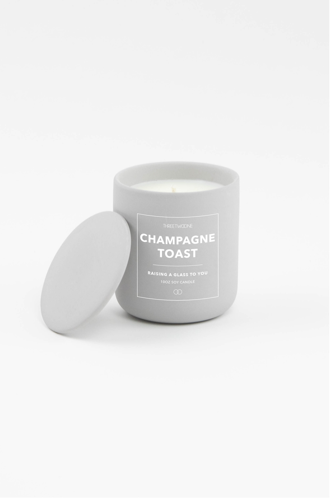 Celebration Ceramic Candle - Champagne Toast