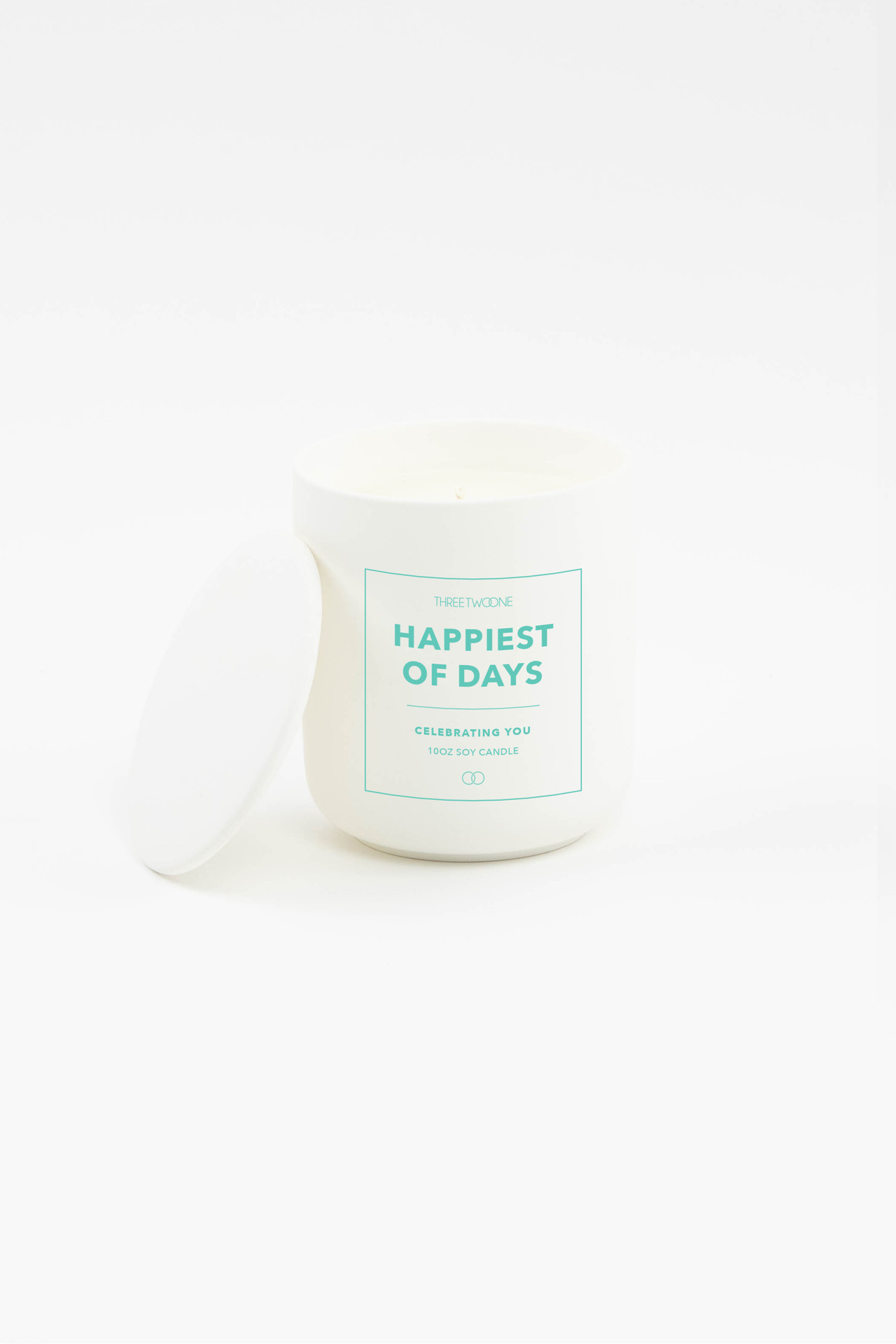 Celebration Ceramic Candle - Happiest of Days