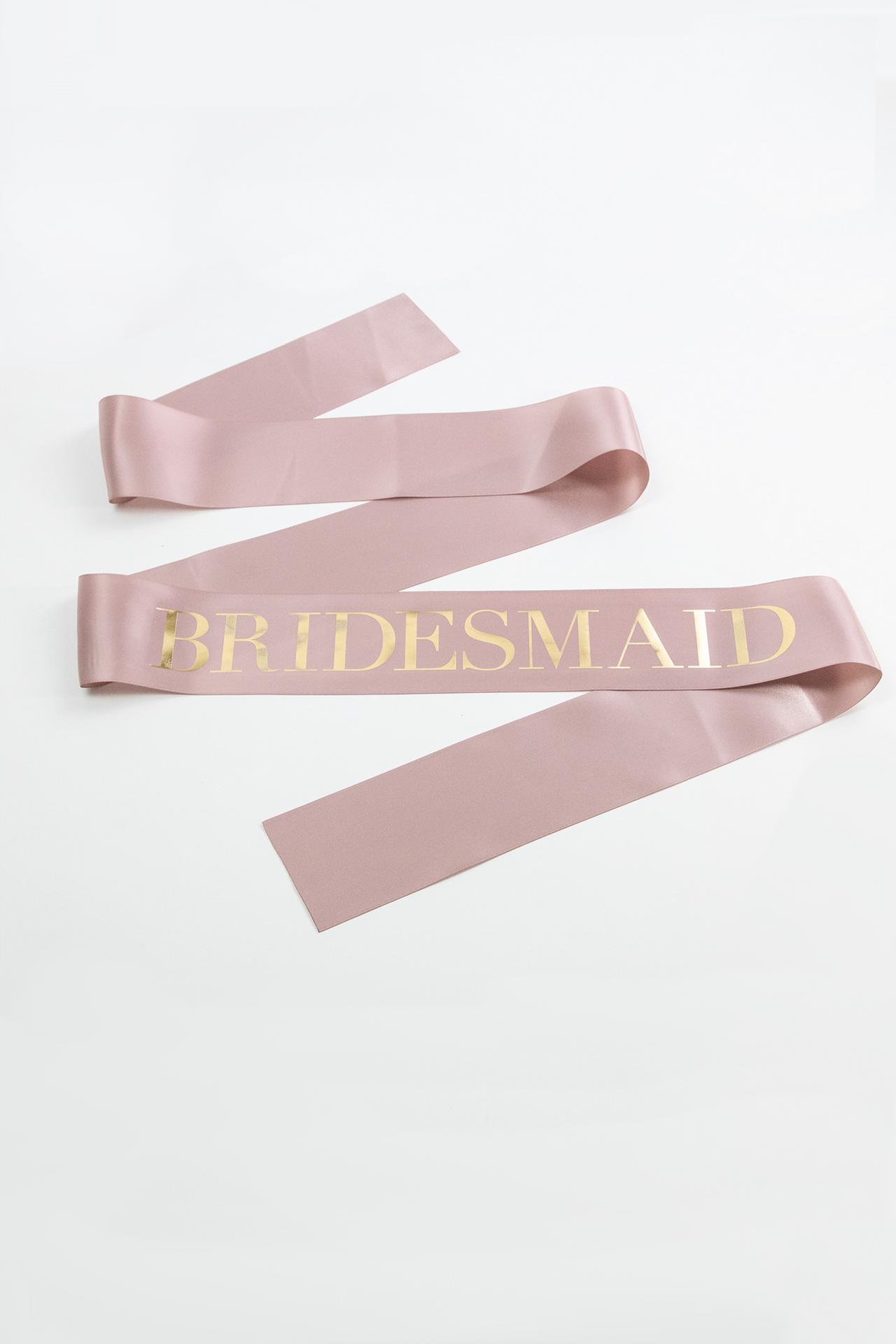 Boxed Bridal Sash - Bridesmaid