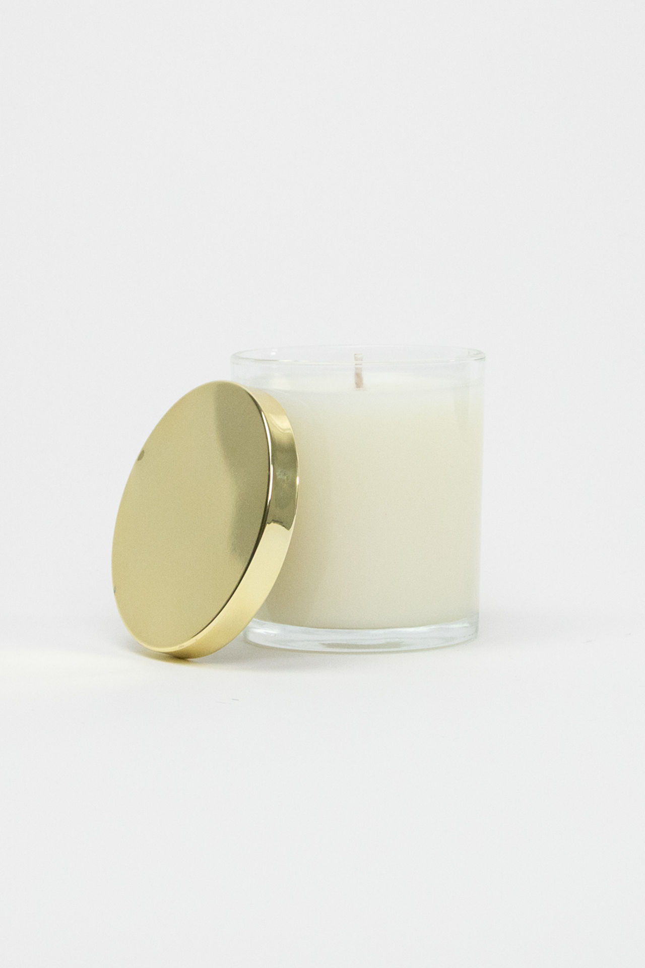 Hip Hip Hooray Glass Soy Candle (Gold)